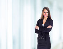 Attractive, successful business woman Royalty Free Stock Photo