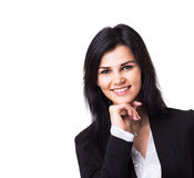 Attractive, successful business woman Royalty Free Stock Photos