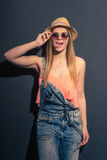 Attractive summer girl Royalty Free Stock Photos