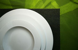 Attractive Table Setting Stock Photo