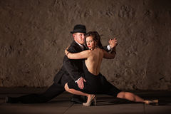 Attractive Tango Dancers Stock Photography