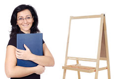Attractive teacher Stock Images