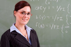 Attractive teacher Stock Photography