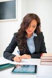 Attractive teacher. Stock Photos