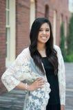 Attractive teen graduate Stock Images