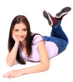 Attractive teenage girl Stock Image