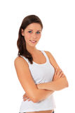 Attractive teenage girl Stock Image