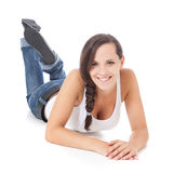 Attractive teenage girl Stock Photography