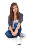 Attractive teenage girl Royalty Free Stock Photo