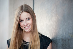 Attractive teenage girl Stock Images