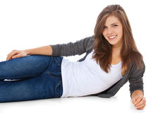 Attractive teenage girl Royalty Free Stock Photos