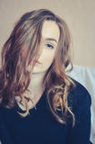 Attractive teenager model Royalty Free Stock Photos
