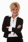 Attractive thirties caucasian businesswoman Stock Image