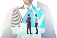Teamwork, meeting and think concept Royalty Free Stock Photography