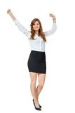 Attractive trendy young businesswoman Royalty Free Stock Images