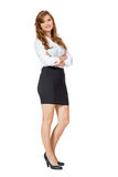 Attractive trendy young businesswoman Stock Photo