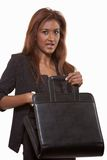Attractive twenties brunette Indian businesswoman Stock Photography