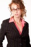 Attractive twenties caucasian brunette woman Royalty Free Stock Photo