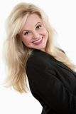 Attractive twenties caucasian business woman Royalty Free Stock Photo