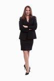 Attractive twenties caucasian business woman Royalty Free Stock Photos