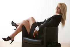 Attractive twenties caucasian businesswoman Stock Image