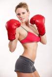 Attractive Twenties Caucasian Fitness Woman Stock Images