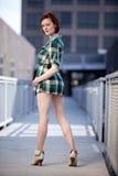 Attractive twenties danish caucasian woman Stock Photography