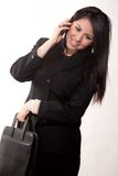 Attractive twenties hispanic businesswoman Royalty Free Stock Image