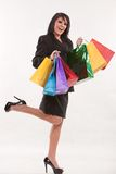 Attractive twenties hispanic businesswoman Royalty Free Stock Image