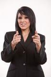 Attractive twenties hispanic businesswoman Royalty Free Stock Photography
