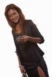 Attractive twenties Indian brunette woman Stock Images