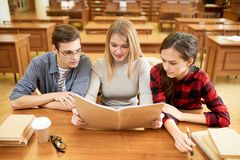Productive Exam Preparations royalty free stock photo
