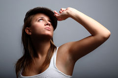 Attractive urban youth Stock Photo