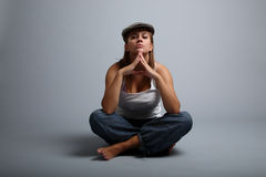 Attractive urban youth Royalty Free Stock Images
