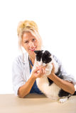 Smiling Veterinarian  Royalty Free Stock Photography