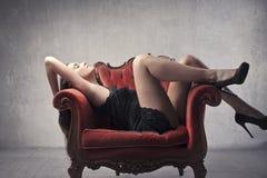 Attractive woman Stock Photos