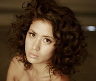Attractive woman Stock Images