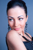 Attractive woman close up portrait Royalty Free Stock Photography