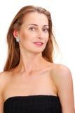 Attractive woman close up portrait Stock Photos