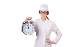 Attractive woman doctor Stock Photography