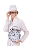 Attractive woman doctor Royalty Free Stock Photos