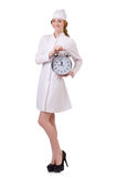 Attractive woman doctor Royalty Free Stock Photo