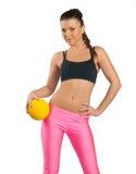 Attractive woman exercise Stock Photos
