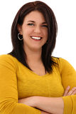 Attractive Woman In Her Thirties Smiling Stock Image