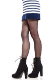Attractive woman legs in boots Royalty Free Stock Photos
