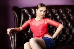 Beautiful model Stock Images