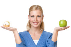 Free Attractive Woman Makes A Choice Royalty Free Stock Image - 25203586