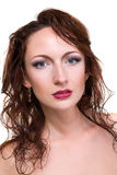 Attractive woman portrait Royalty Free Stock Images