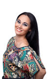Attractive woman Portrait stock photo