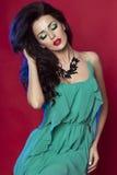 Attractive woman posing stock photos